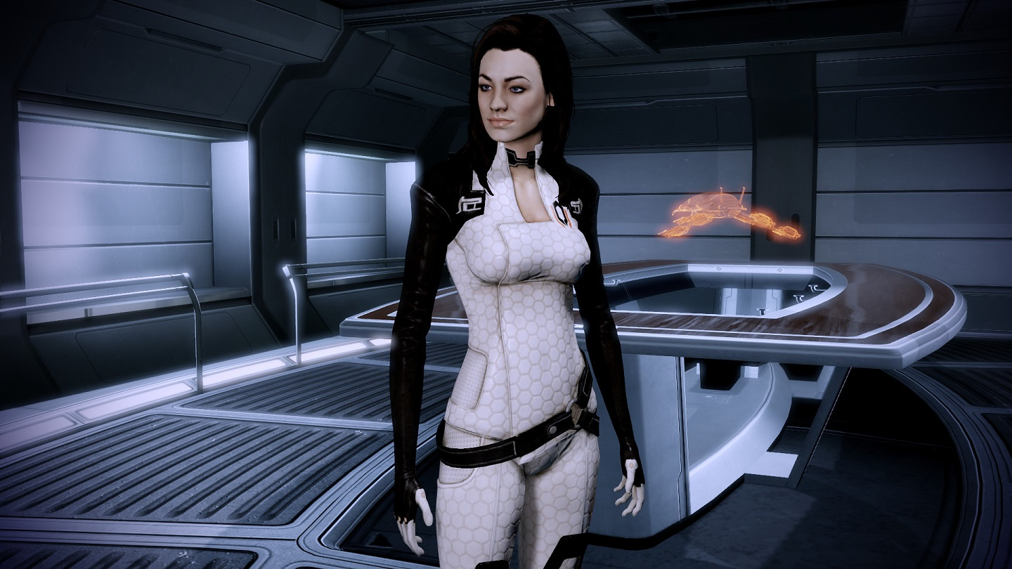 Miranda Lawson in Mass Effect 2